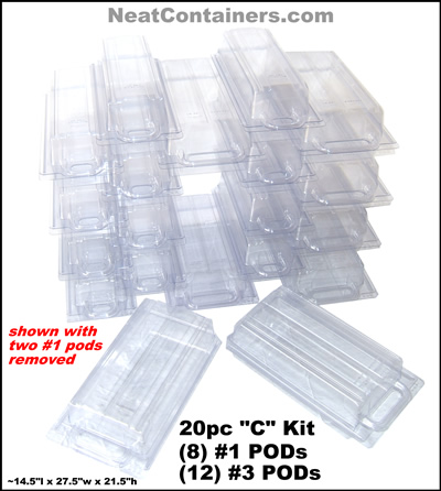 COMBO Kit - Small (20pc)